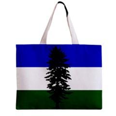 Flag Of Cascadia Zipper Mini Tote Bag by abbeyz71