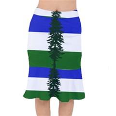 Flag Of Cascadia Mermaid Skirt by abbeyz71