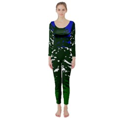 Flag Of Cascadia Long Sleeve Catsuit by abbeyz71