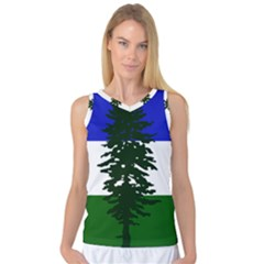 Flag Of Cascadia Women s Basketball Tank Top by abbeyz71