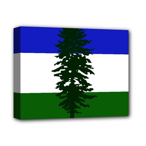 Flag Of Cascadia Deluxe Canvas 14  X 11  by abbeyz71