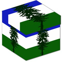 Flag Of Cascadia Storage Stool 12   by abbeyz71