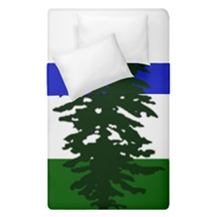 Flag Of Cascadia Duvet Cover Double Side (single Size) by abbeyz71