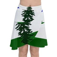 Flag Of Cascadia Chiffon Wrap by abbeyz71