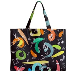 Repetition Seamless Child Sketch Zipper Mini Tote Bag by Nexatart