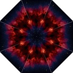 Astronomy Space Galaxy Fog Straight Umbrellas by Nexatart
