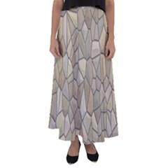 Tile Steinplatte Texture Flared Maxi Skirt by Nexatart