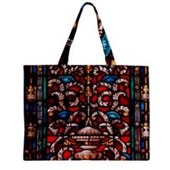 Decoration Art Pattern Ornate Zipper Mini Tote Bag by Nexatart