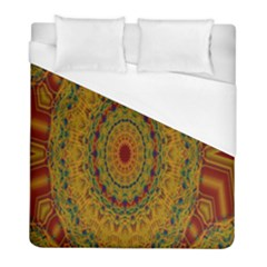 India Mystic Background Ornamental Duvet Cover (full/ Double Size)