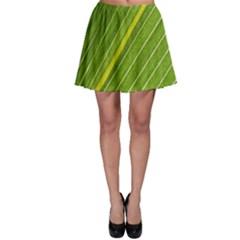 Leaf Plant Nature Pattern Skater Skirt by Nexatart