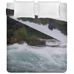 Sightseeing At Niagara Falls Duvet Cover Double Side (california King Size) by canvasngiftshop