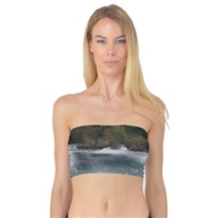 Sightseeing At Niagara Falls Bandeau Top