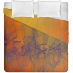 Fiesta Colorful Background Duvet Cover Double Side (king Size) by Onesevenart