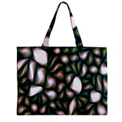 Fuzzy Abstract Art Urban Fragments Zipper Mini Tote Bag by Onesevenart
