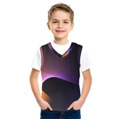 Star Graphic Rays Movement Pattern Kids  Sportswear by Onesevenart