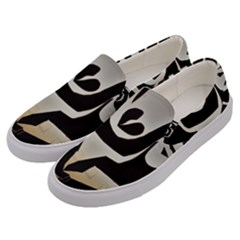 With Love Men s Canvas Slip Ons by MRTACPANS