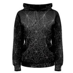 Sacred Geometry Music 144links Women s Pullover Hoodie by Cveti