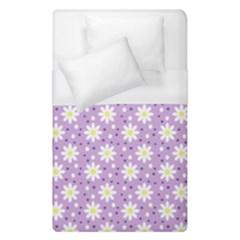Daisy Dots Lilac Duvet Cover (single Size) by snowwhitegirl