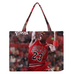 Michael Jordan Zipper Medium Tote Bag