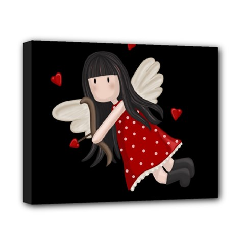 Cupid Girl Canvas 10  X 8  by Valentinaart