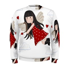 Cupid Girl Men s Sweatshirt
