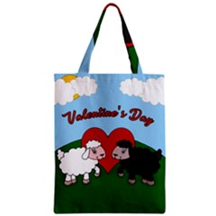 Valentines Day   Sheep  Classic Tote Bag by Valentinaart