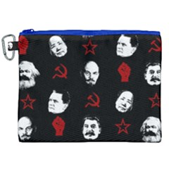 Communist Leaders Canvas Cosmetic Bag (xxl) by Valentinaart