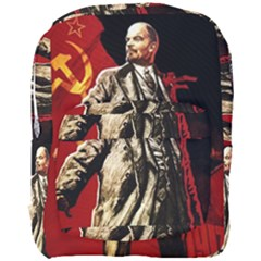 Lenin  Full Print Backpack by Valentinaart