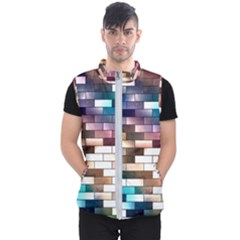 Background Wall Art Abstract Men s Puffer Vest