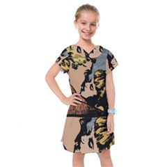 Kiss Kiss Kids  Drop Waist Dress
