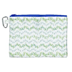 Wavy Linear Seamless Pattern Design  Canvas Cosmetic Bag (xl) by dflcprints
