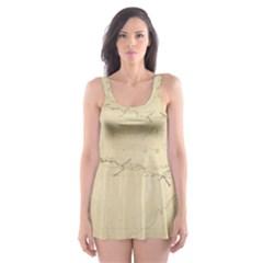Background 1775383 1920 Skater Dress Swimsuit by vintage2030