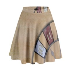 Circle High Waist Skirt by vintage2030