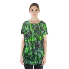 The Leaves Plants Hwalyeob Nature Skirt Hem Sports Top by Nexatart