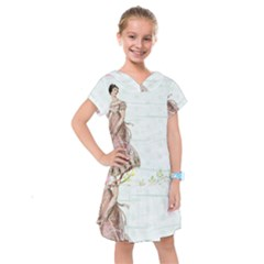 Background 1426677 1920 Kids  Drop Waist Dress