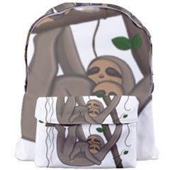 Cute Sloth Giant Full Print Backpack by Valentinaart
