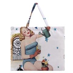 Retro 1265769 1920 Zipper Large Tote Bag by vintage2030