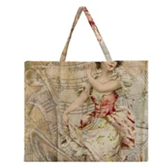 Fairy 1229009 1280 Zipper Large Tote Bag by vintage2030