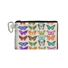 Butterfly 1126264 1920 Canvas Cosmetic Bag (small) by vintage2030