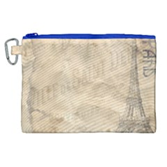 Paris 1118815 1280 Canvas Cosmetic Bag (xl)