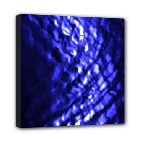 Blue Ripple Multi Function Bag by vwdigitalpainting