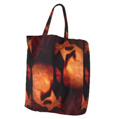 Of Two Minds Giant Grocery Zipper Tote by vwdigitalpainting