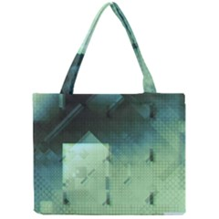 Mc Escher Inspired Fractal Pattern Mini Tote Bag by douxsurmoi