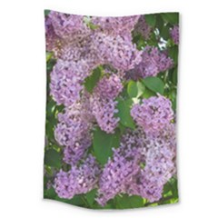 Lilacs 2 Large Tapestry by dawnsiegler