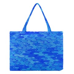 Flowing Fractal Pattern Inspired By Water And Light Medium Tote Bag by douxsurmoi