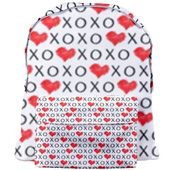 Xoxo Valentines Day Pattern Giant Full Print Backpack by Valentinaart