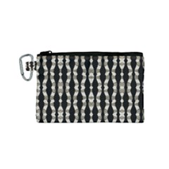 Wavy Stripes Pattern Canvas Cosmetic Bag (small) by dflcprints