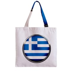 Greece Greek Europe Athens Zipper Grocery Tote Bag by Nexatart