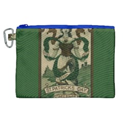 St  Patricks Day  Canvas Cosmetic Bag (xl)