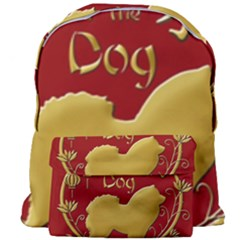 Year Of The Dog   Chinese New Year Giant Full Print Backpack by Valentinaart